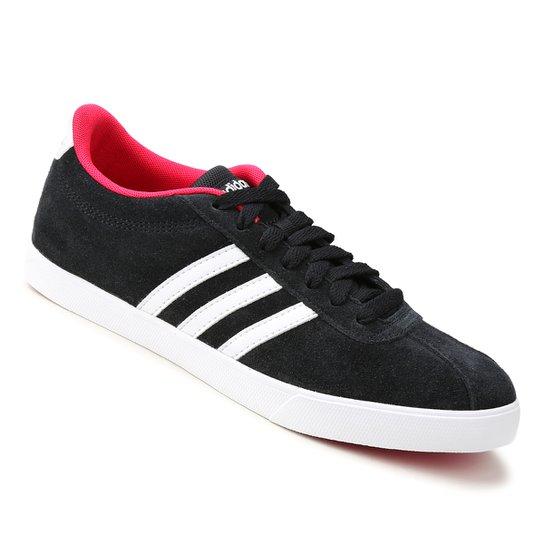 7e6d6c2a0d Tênis Adidas Courtset Feminino - Preto