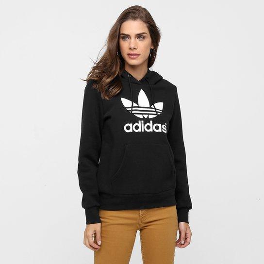 0081b8458cc Moletom Adidas Originals Trf Logo Hoodie c  Capuz - Compre Agora ...