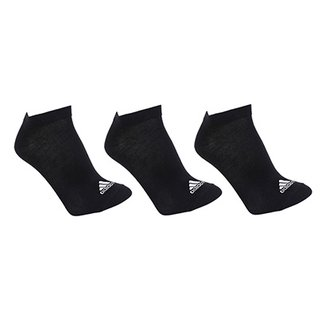 96395f4cfb4 Meia Invisível Adidas Thin Pacote C  3 Pares