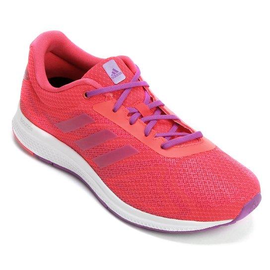 72b462d03e3 Tênis Adidas Mana Bounce Feminino - Rosa e Branco - Compre Agora ...