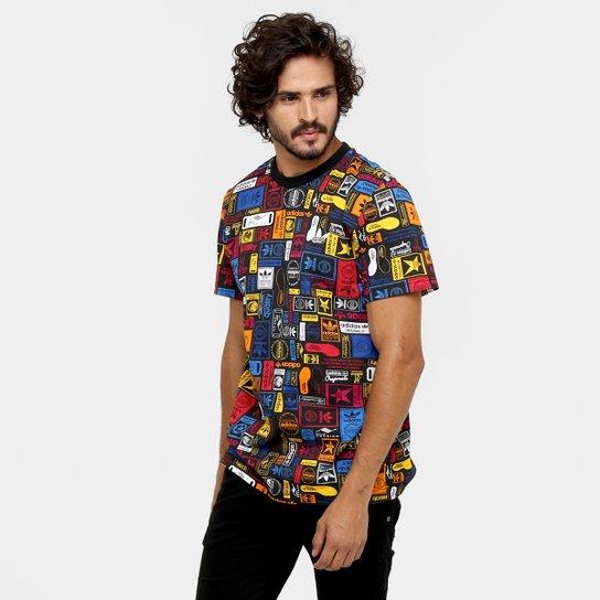 5f621e95009 Camiseta Adidas Street Grp Multicolor - Compre Agora
