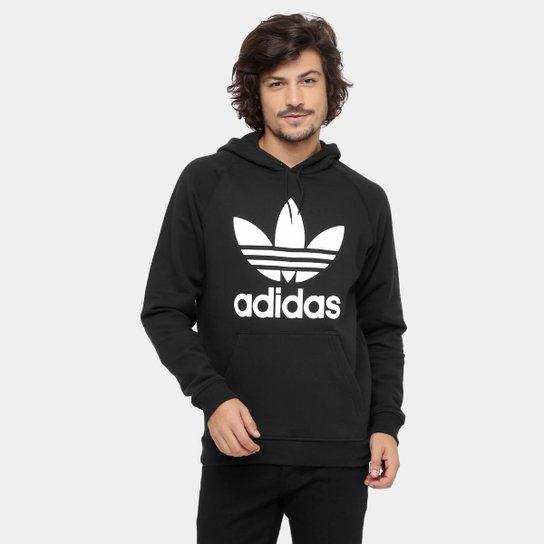 82fa70aa96 Moletom Adidas Trefoil Hoody c  Capuz - Compre Agora