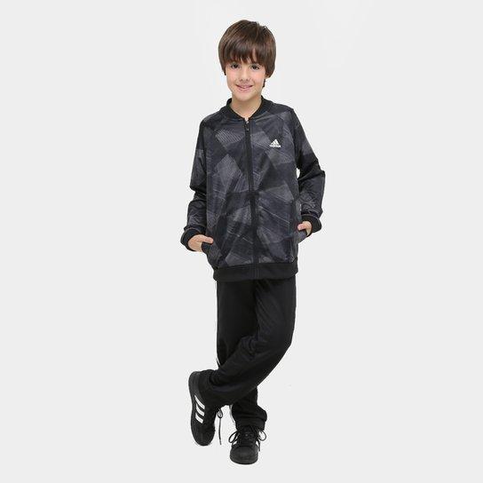 07719585fb Agasalho Adidas Yb Training Ts Infantil - Compre Agora