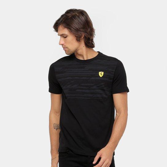 Camiseta Puma Scuderia Ferrari Masculina - Compre Agora  adaa449952f