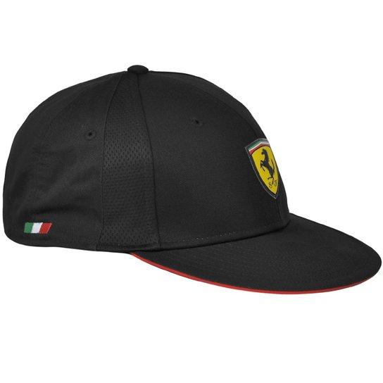 Boné Puma Kids Ferrari - Preto - Compre Agora  a512ef5c102
