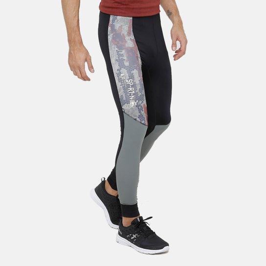 c4e224eeb20 Calça Legging Reebok Compressão Sr Masculina - Preto - Compre Agora ...