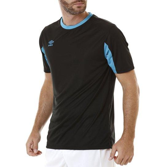 98d56fe4e6fd1 Camiseta Manga Curta Masculina Umbro Core Preto - Compre Agora