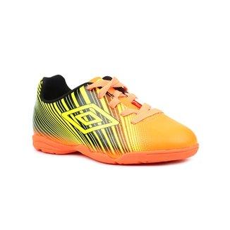 28fb042bad Tênis de Futsal Infantil Para Menino Umbro Slice Ii Jr Laranja preto