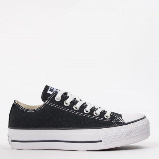 Tênis Converse Chuck Taylor All Star Platform - Preto - Compre Agora ... 5dbe395796310