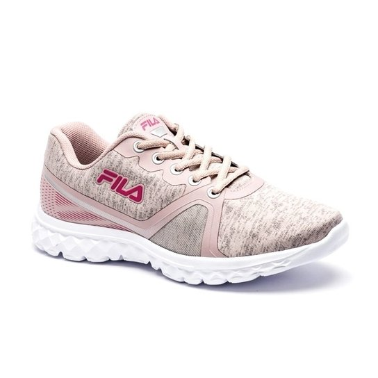 06646969471 Tênis Fila Sublime Feminino - Rosa e Branco - Compre Agora