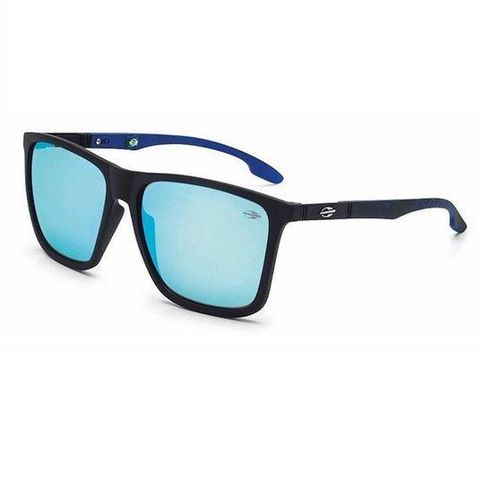 Óculos de Sol Mormaii Hawaii Fosco Máscara Masculino - Preto ... cc7da62704
