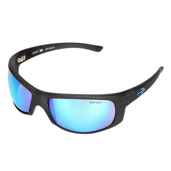 Óculos de Sol Mormaii 00287D2212 Lente Espelhada Masculino - Preto ... dc8d94b327