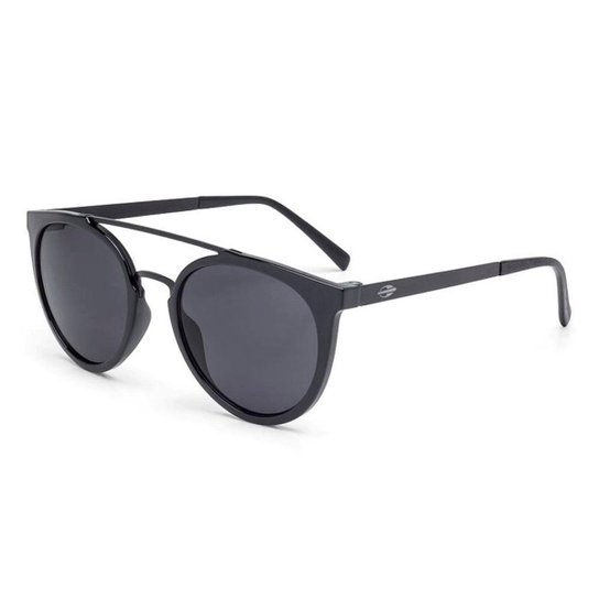 Oculos Sol Mormaii Los Angeles Preto Brilho C  Fosco Escovado - Preto 35ecf6e71d