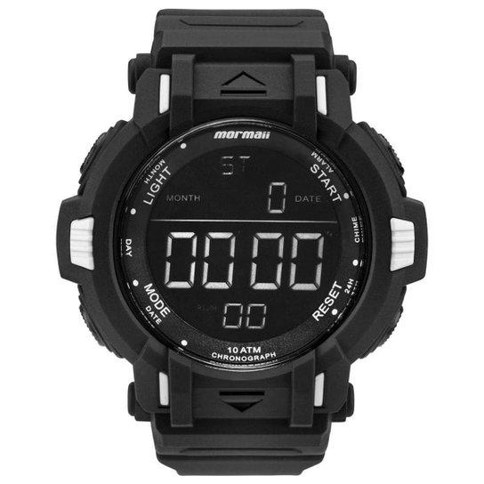c5ea67b2146 Relógio Mormaii Masculino Acqua Action - MOM08111 8P MOM08111 8P - Preto