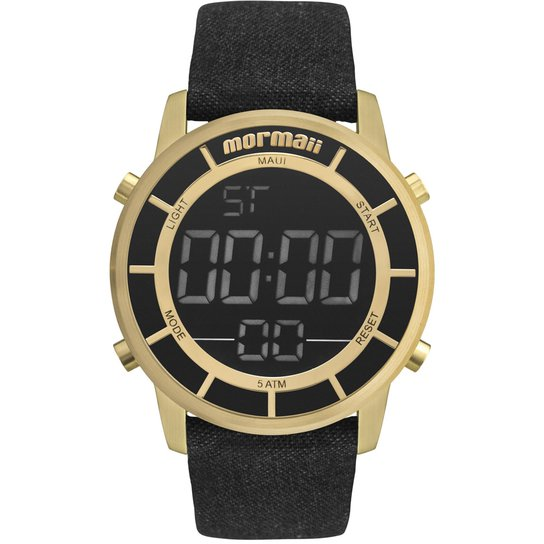 9fd29d8142e Relógio Mormaii Feminino Maui Sunset - MOBJ3463DE 2X MOBJ3463DE 2X - Preto