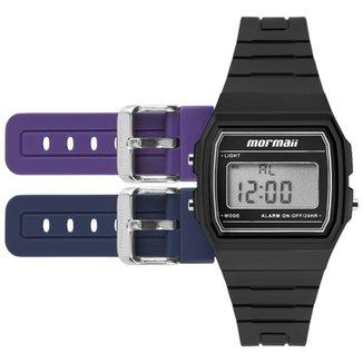 6fdcb9c4fe3 Relógio Mormaii Troca Pulseira Vintage Freestyle Preto - MOJH02AH 8P  MOJH02AH 8P
