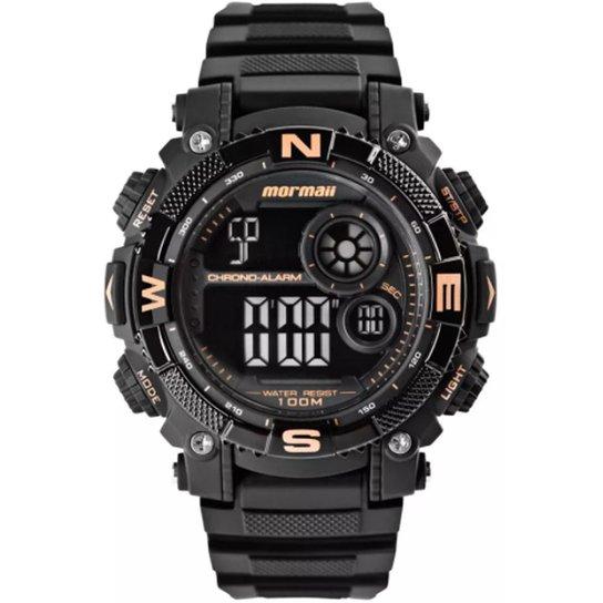 bc44a046b5ac9 Relógio Masculino Mormaii Mo12579d 8J - Preto - Compre Agora
