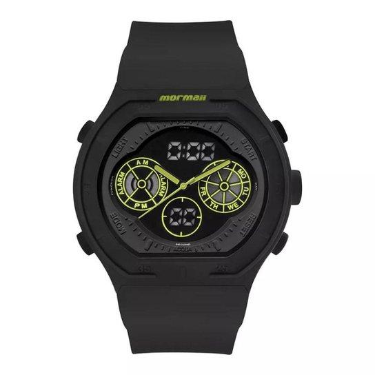 a487b711b1b Relógio Mormaii Analógico Digital Lumi MO160323BA8V Preto Masc - Preto