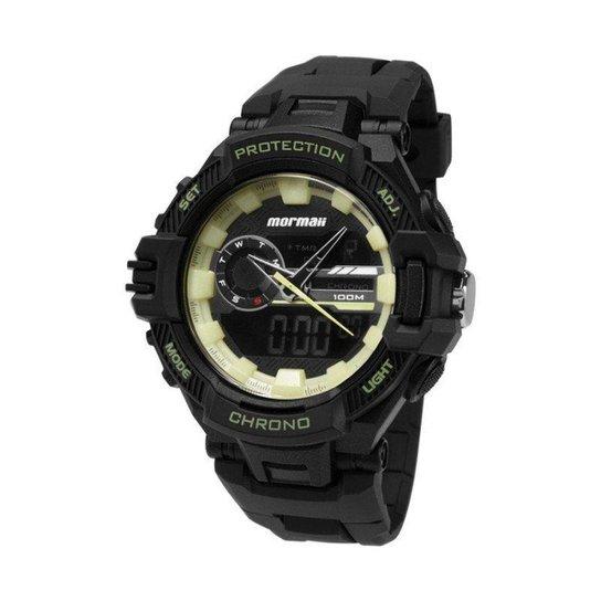 7cc234e28 Relógio Mormaii Analógico Digital Protection MOAD11348P Preto - Preto