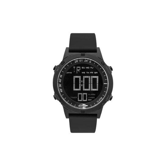 8d0e960c68fc5 Relógio Mormaii Digital Pro MOW139011P Prata Metal - Preto - Compre ...