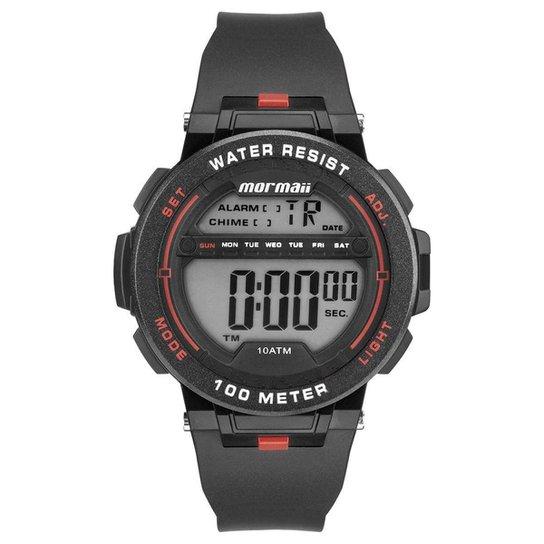 7fe04e89468 Relógio Mormaii Masculino Wave - MO9810 8R MO9810 8R - Preto ...