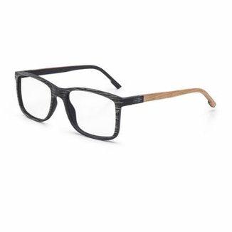 7431399542be3 Óculos De Grau Mormaii Pequim Wood