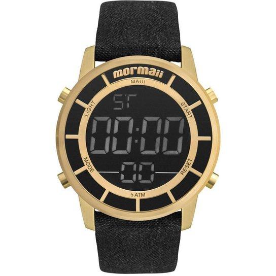 621aab9859fde Relógio Mormaii Mobj3463de 2x Feminino - Preto - Compre Agora   Zattini