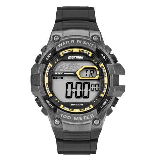 a335016fc42aa Relógio Mormaii Digital Acqua - Preto - Compre Agora