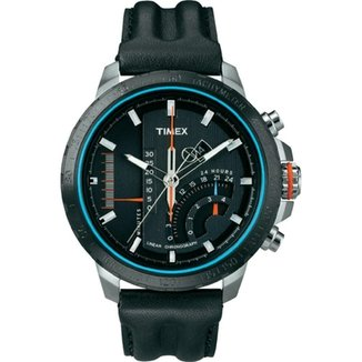 d865e893f8c Relógio Timex IQ Linear Indicator Chronograph - T2P274PL TI T2P274PL TI
