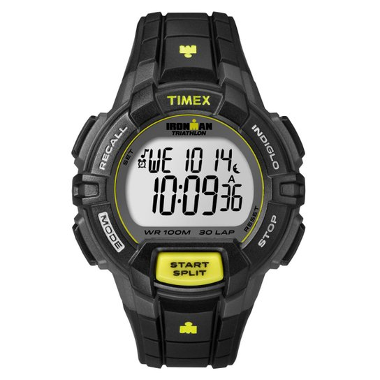 6abc72b5bc64 Relógio Timex Masculino Ironman - T5K790WW TN - Preto