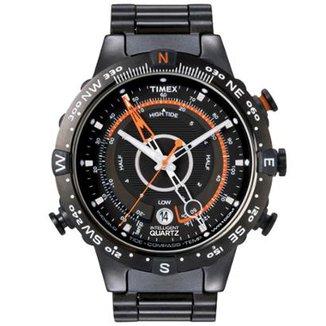 0a58c4461 Relógio Timex Masculino IQ Adventure Series T2N723WKL/TN Preto T2N723WKL/TN