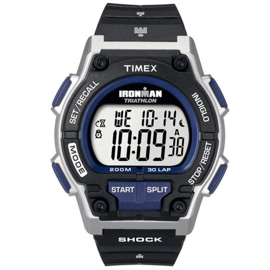 5c45d5774b79 Relógio Timex Ironman Shock 30-Lap TI5K342 N TI5K342 N - Preto