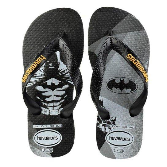6a2af9e63063b Chinelo Infantil Havaianas Batman Masculino | Zattini
