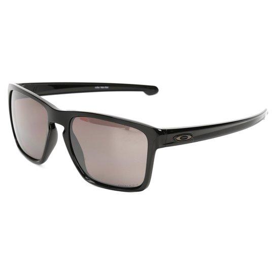 Óculos de Sol Oakley Sliver Xl Masculino - Preto - Compre Agora ... dcb811841b