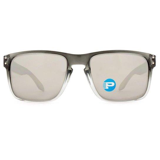 Óculos Oakley Holbrook Polarizado OO9102 A9 55 - Preto - Compre ... ec3ae4b15d