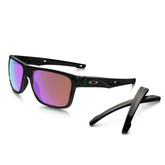 4c8834f7a05d7 Óculos Oakley Crossrange Polished Black Prizm Golf - Compre Agora ...