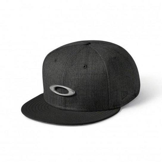 3cd6ae2204bd6 Boné Oakley O-Justable Metal Hat - Preto - Compre Agora