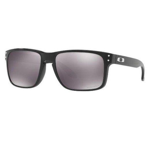 Óculos de Sol Oakley Holbrook Polished Prizm Iridium - Preto ... a19c20bc59