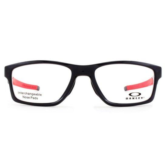 b40f9b333 Armação Óculos de Grau Oakley Crosslink MNP OX8090 03-55 - Preto ...