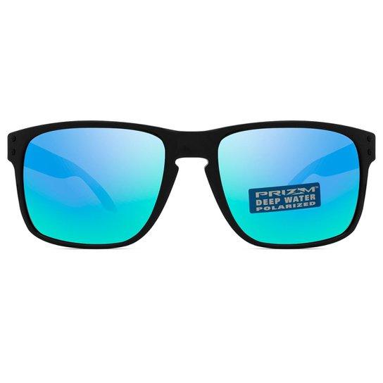 5fb4151a669f4 Óculos de Sol Oakley Holbrook Polarizado OO9102 C1-55 - Compre Agora ...