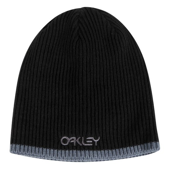 Gorro Oakley Factory Flip Beanie Masculino - Preto - Compre Agora ... 59a9aba0921