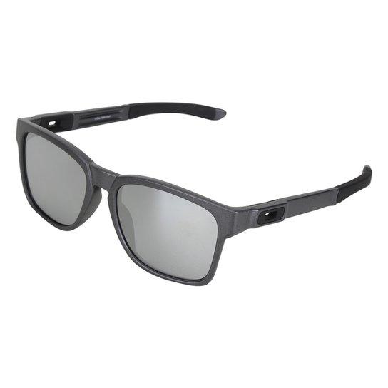 Óculos de Sol Oakley Catalyst Iridium Masculino - Preto - Compre ... d82ba33e410cd