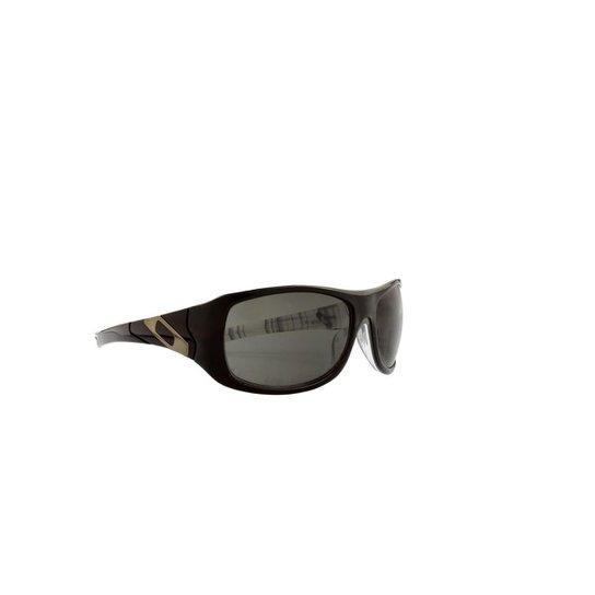f665b4aea2715 Óculos de Sol Oakley 100% Proteção UV Interior Estampa Masculino - Preto