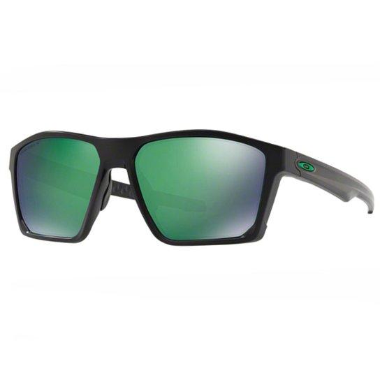 b258fae77d9fc Óculos Oakley Targetline Young Jade - Preto - Compre Agora   Zattini