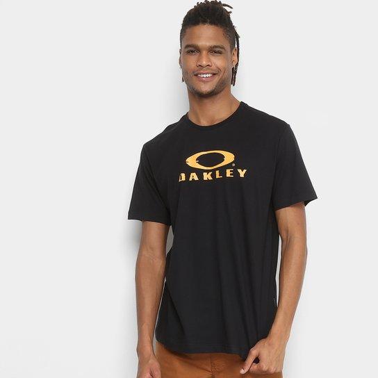 Camiseta Oakley Glitch Branded Masculina - Preto - Compre Agora ... 8eb281d5169