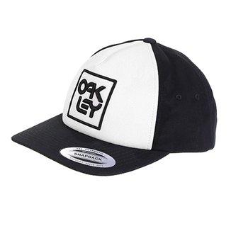 Boné Oakley Aba Reta Mod Snapback Logo Masculino a35d01bba18