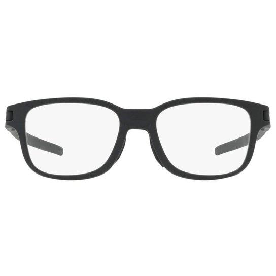 ce8fb1b0d8aa9 Armação Óculos de Grau Oakley Frame Latch SS OX8114 811401 52 - Preto