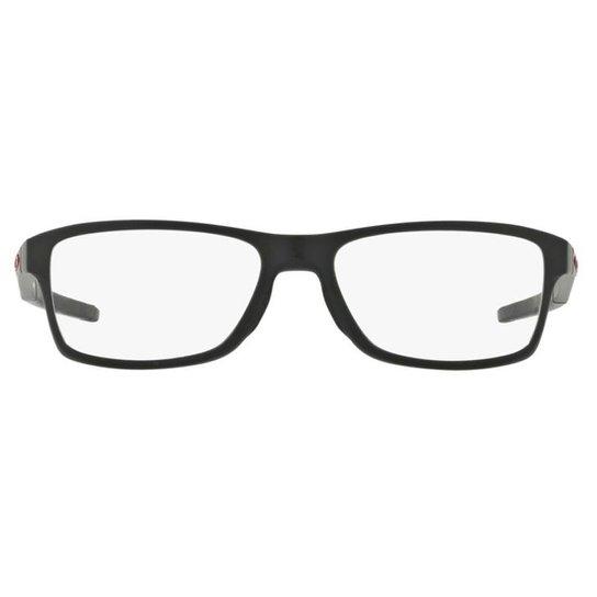 Armação Óculos de Grau Oakley Frame Chamfer Mnp OX8089 808901 56 - Preto 7f3ca67c2b