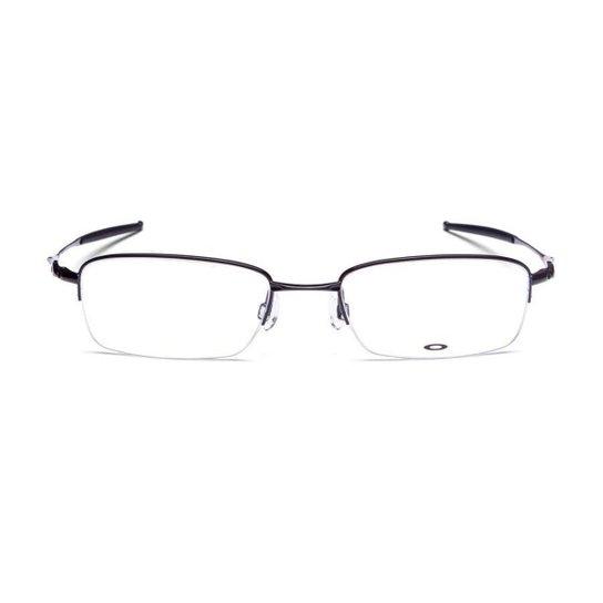 66dc2d1b5cc85 Armação Óculos de Grau Oakley Frame Top Spinner 5B OX3133 313302 53 - Preto