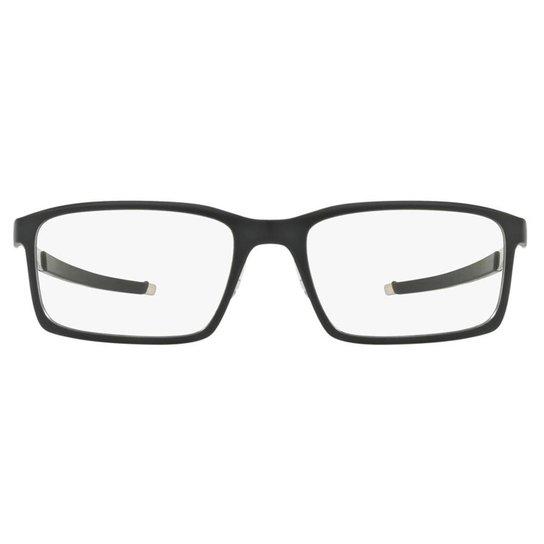 a8295fb35a60b Armação Óculos de Grau Oakley Frame Steel Line S OX8097 809701 54 - Preto